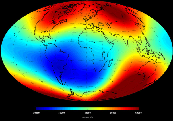 Current Magnetic Field Map confirms 3 Magnets Configuration